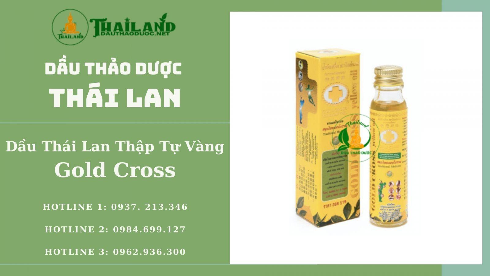 dầu Thái Lan Thập Tự Vàng Gold Cross