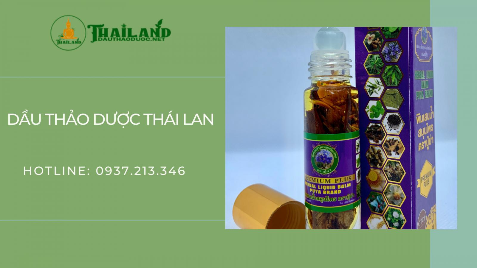 Dầu Thảo Dược Thái Lan chuyên cung cấp dầu Thái thảo dược chất lượng