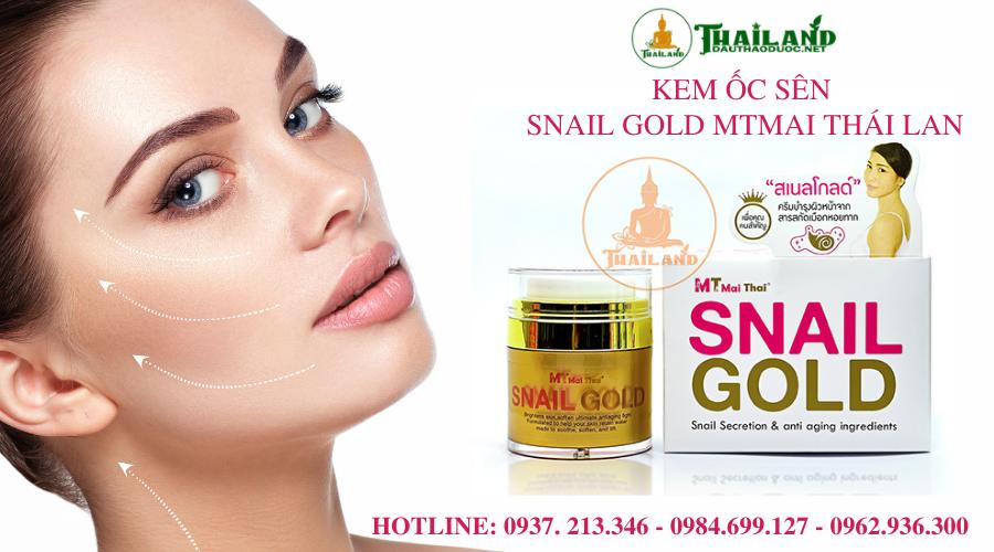 kem ốc sên Thái Lan Snail Gold