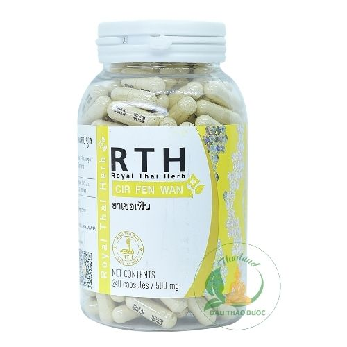 thuốc rắn thái lan số 5 royal thai herb rth