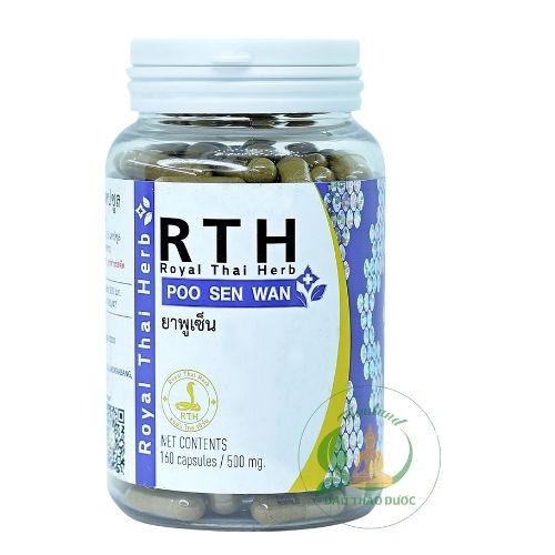 Thuốc rắn thái lan số 06: POO SEN WAN (Ích Thận Hoàn) royal thai herb rth