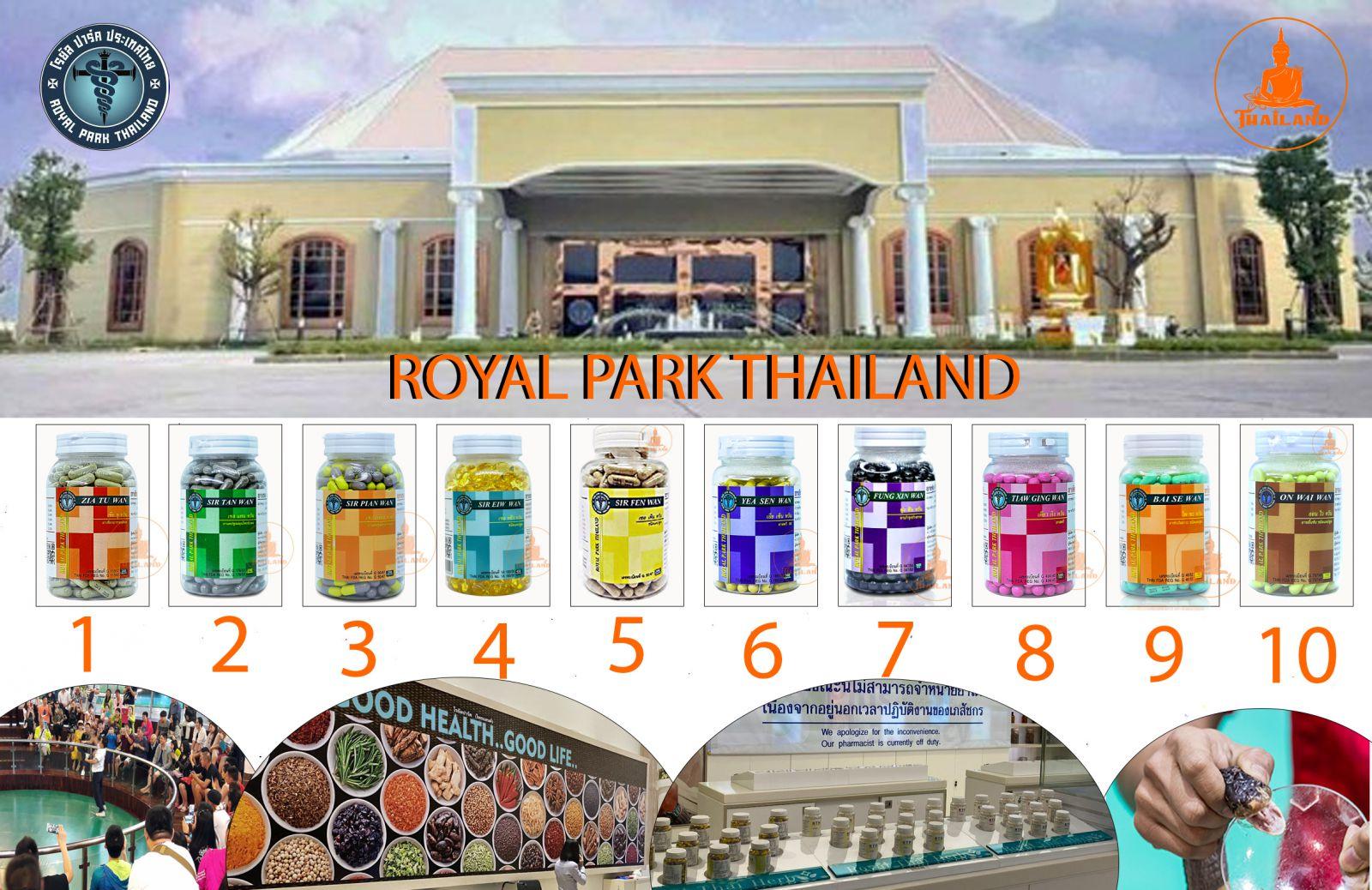 zia tu wan thuốc rắn thái lan số 1 từ royal park thailand